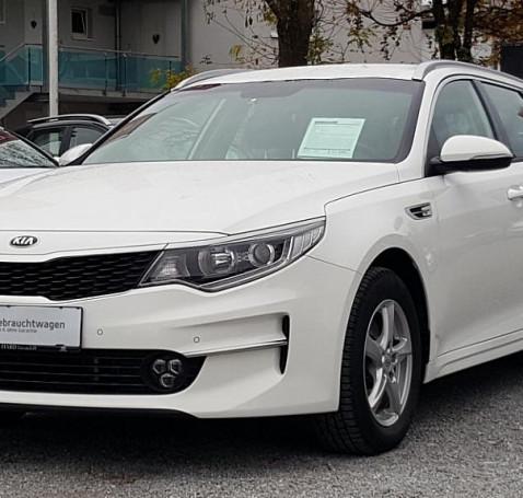 KIA Optima Wagon 1,7 CRDi ISG Silber bei BM || Autohaus Hard in