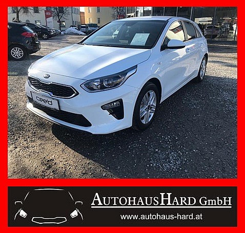 KIA CEED Silber 1.4 MPi MT6 100PS ISG Eco bei BM || Autohaus Hard in