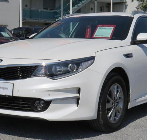 KIA Optima Wagon 1,7 CRDi ISG Silber DCT bei BM || Autohaus Hard in
